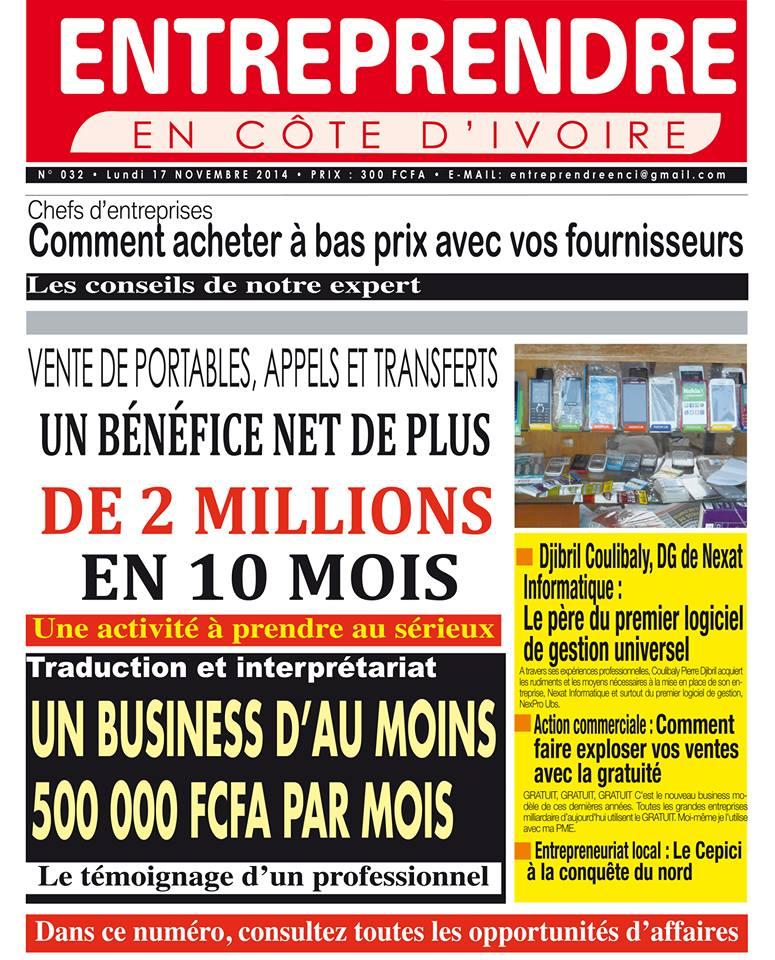 Entreprendre en Côte d'Ivoire, les conseils du Coach Régis AMON