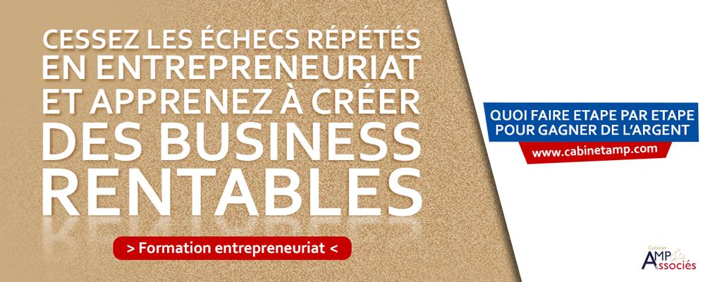 Entrepreneuriat Formation