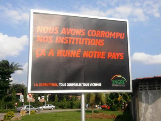 corruption dans la vente