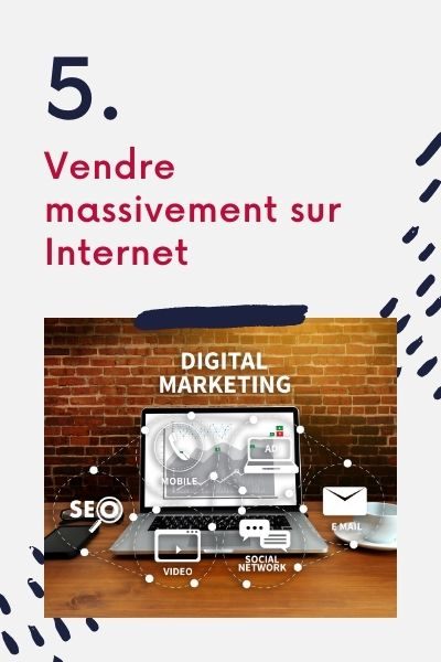 Marketing Digital : Vendre massivement sur Internet
